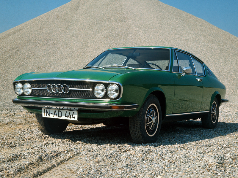 Audi 100 Coupe S (C1) '1970–76