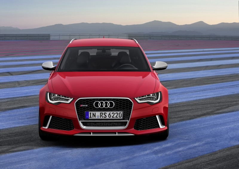 Audi RS6 facelift - rode furie