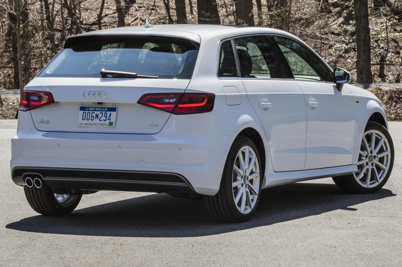 2016 Audi A3 TDI Sportback Shines in New York Photo Gallery