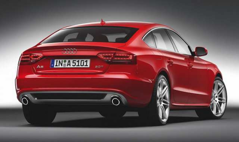 Audi A5 2016 redesign rear view