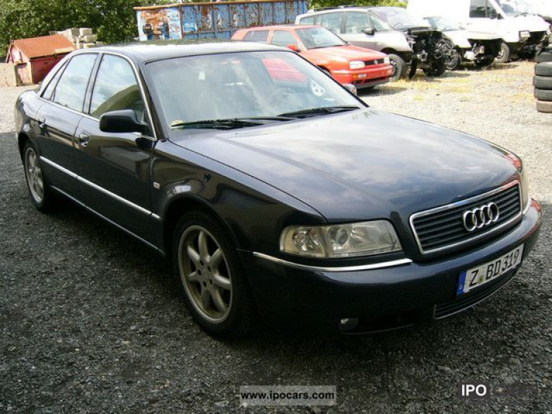 2001 Audi A8 2.5 TDI quattro Limousine Used vehicle photo