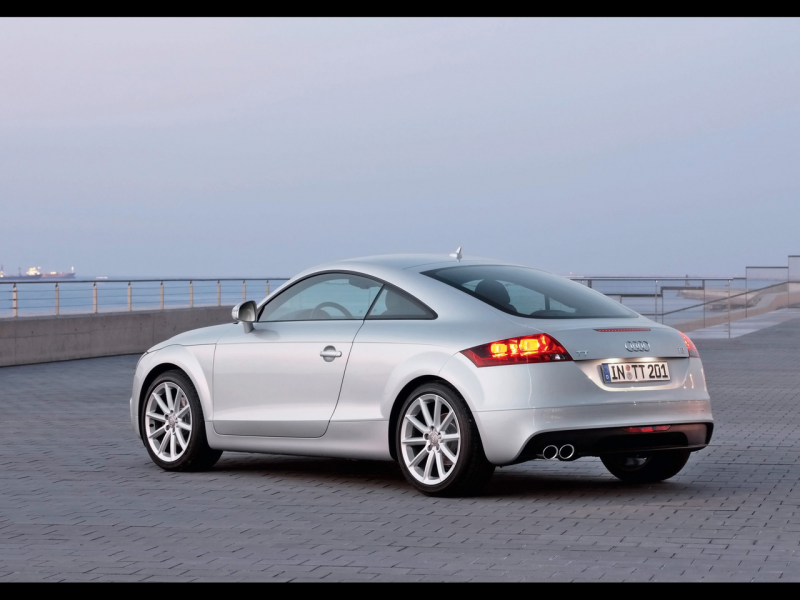 2011 Audi TT Coupe - Rear And Side 2 - 1280x960 - Wallpaper