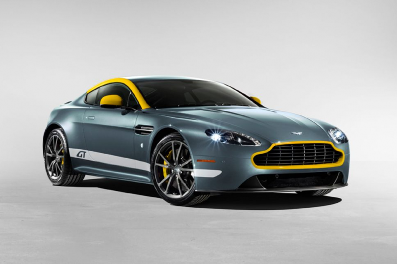 2015 Aston Martin V8 Vantage Gt Coupe Front Three Quarters
