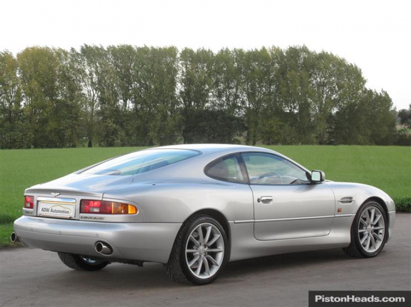 2000 X ASTON MARTIN DB7 VANTAGE V12 Coupe - Dunhill Silver (2000) For ...