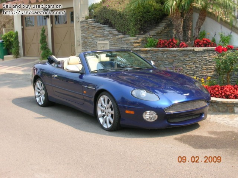 Pictures of 2003 Aston Martin DB7 Vantage Volante - $69,995: