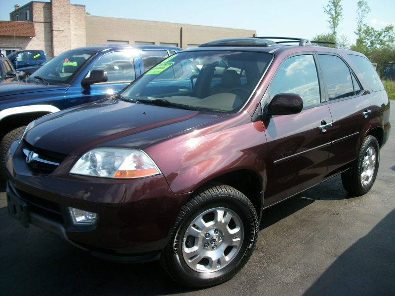 2001 Acura MDX AWD, Picture of 2001 Acura MDX Base, exterior
