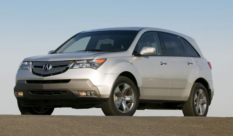 Acura MDX and RDX get IIHS 2008 Top Safety Pick Photos - Image 1
