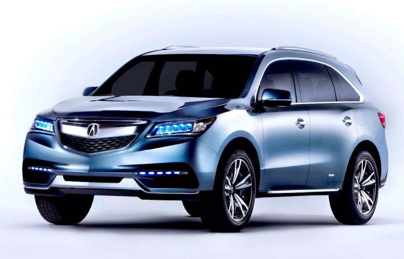 acura debuts the 2014 acura mdx taking place at 2013 detroit auto show ...