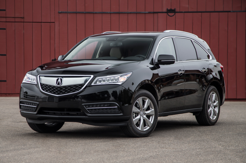 2014 Acura Mdx Sh Awd Front Three Quarters