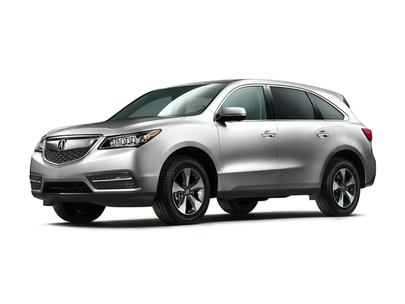 2014 Acura MDX SUV 3.5L 4dr Front wheel Drive Exterior 2