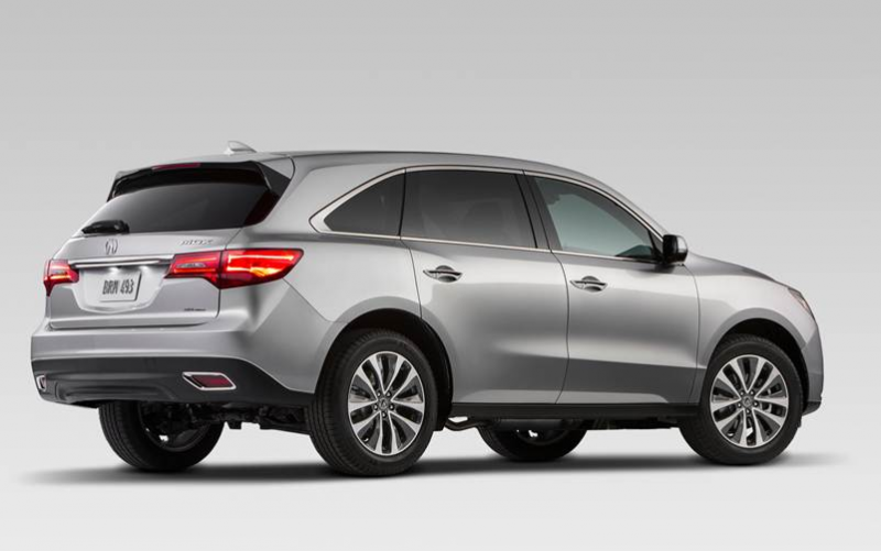 2016 Acura MDX Release Date and Price
