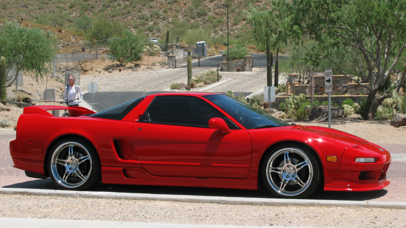 NSX is a street car designed and built by Formula-One engineers. Honda ...