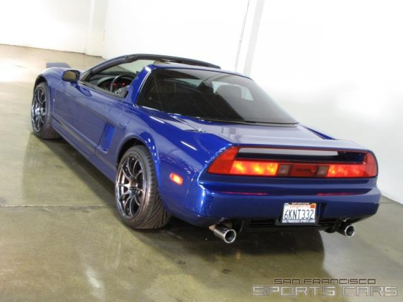 1998 Acura NSX-T Drivers Side Rear