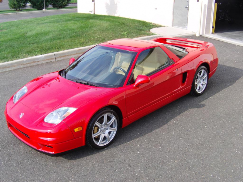 2004 Acura NSX – Paintwork Correction