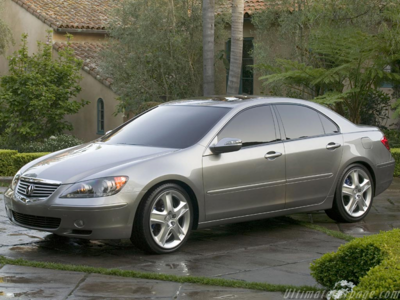 Acura RL Prototype High Resolution Image (4 of 6)