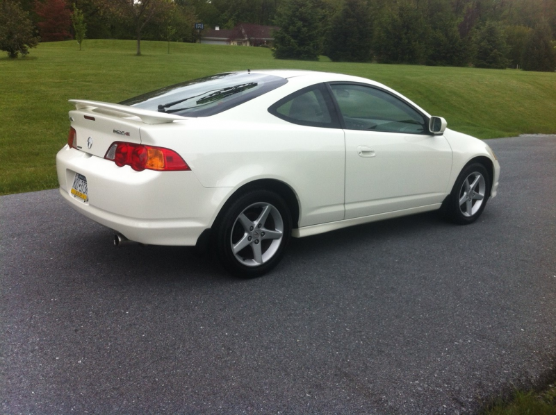 2002 Acura RSX Type-S Trim Overview