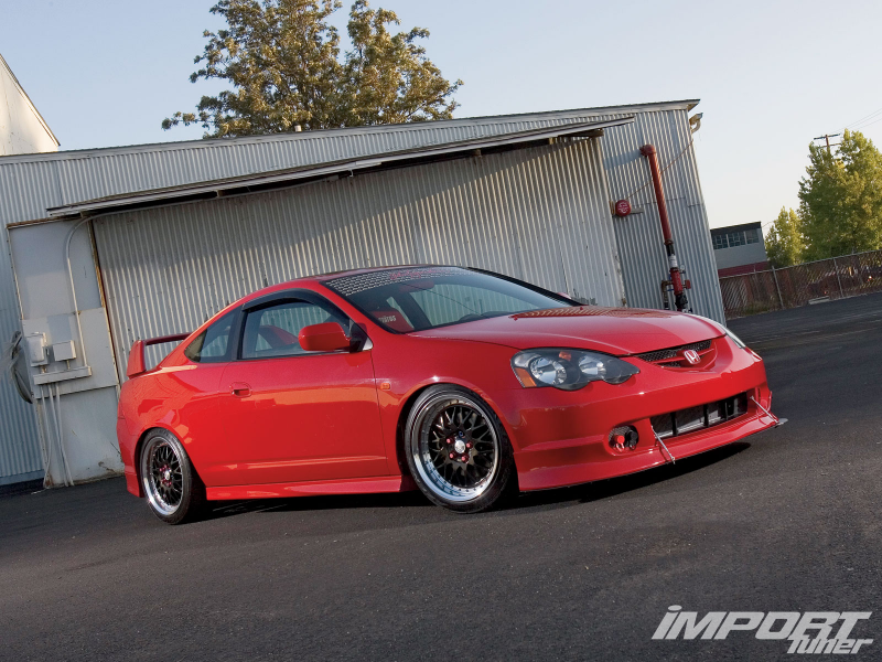 2004 Acura Rsx Type S Front View
