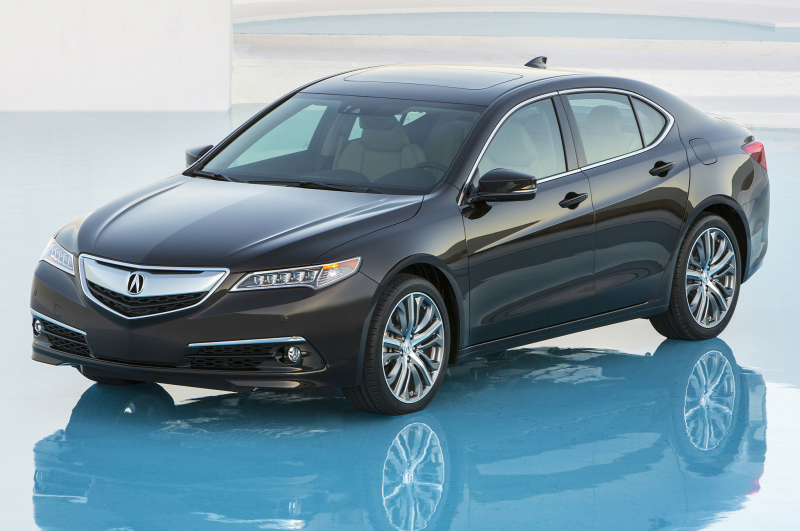 2015 Acura Tlx Front Side Above View