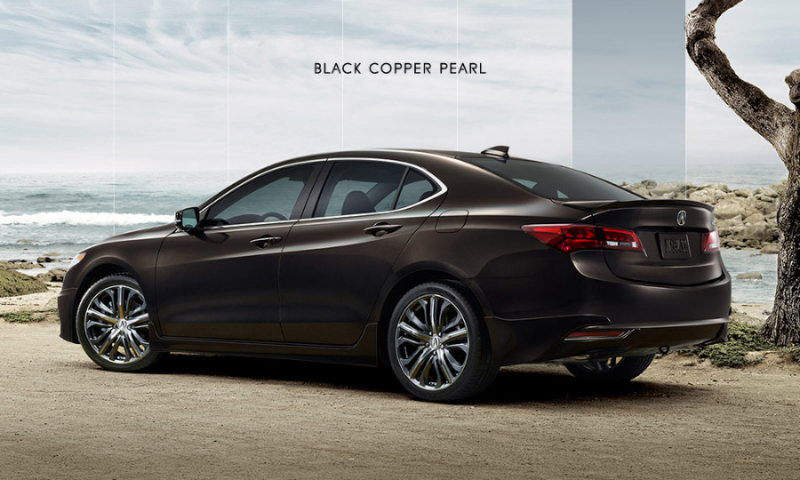 The 2015 Acura TLX will be offered in 7 exterior colors: