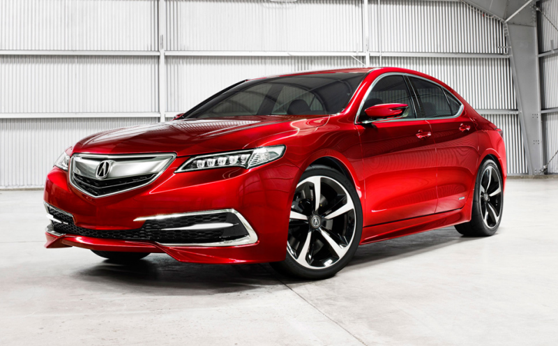 The all-new 2015 Acura TLX Prototype – Liberating Agility