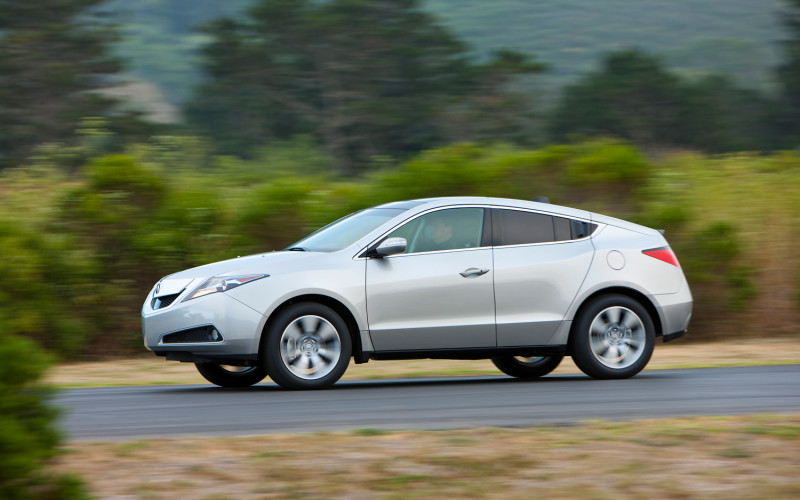 2012 Acura Zdx Side In Motion