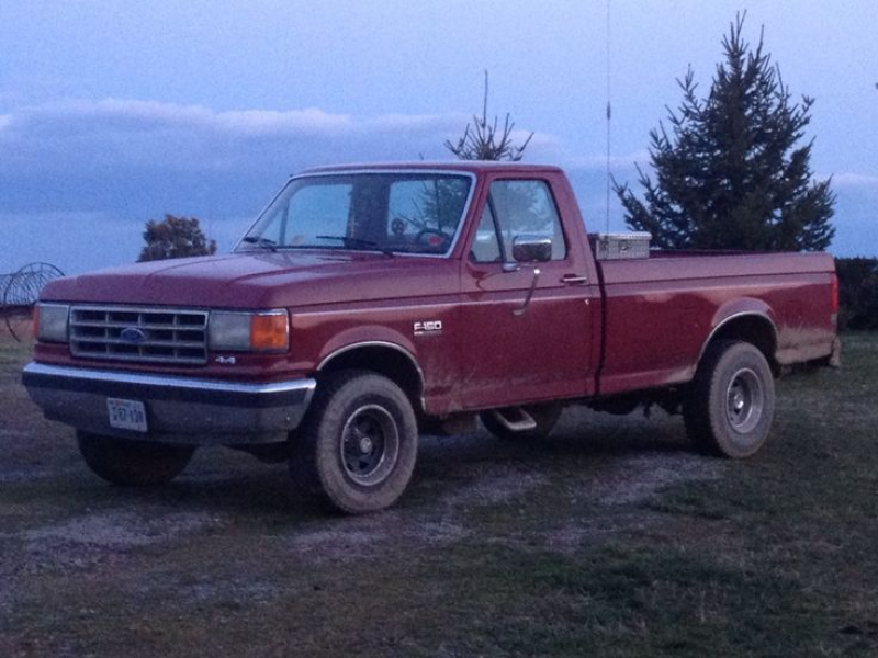 My 1987 ford f-150
