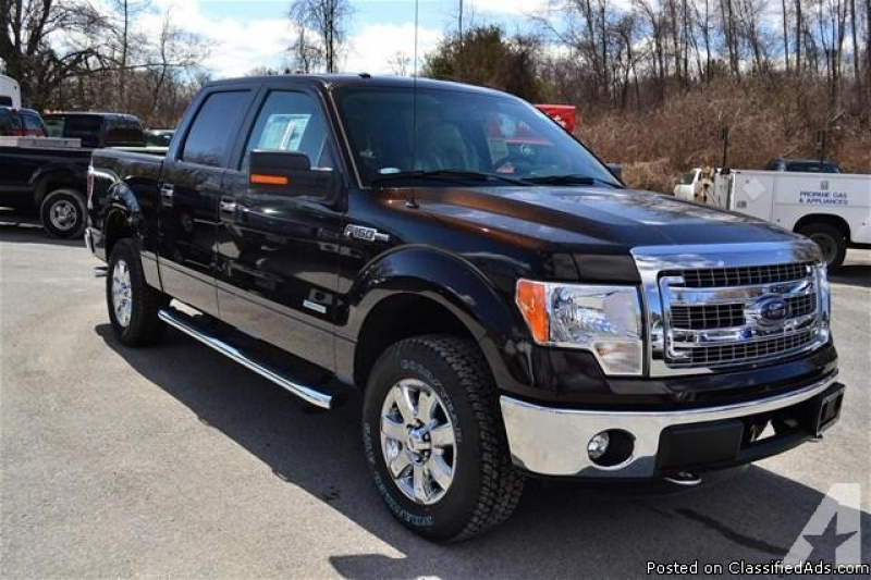 NEW 2013 Ford F-150 'XLT' 4X4 Supercrew!! Rear View Camera XLT ...