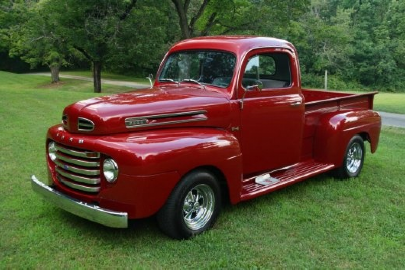 1948 FORD F100 pickup, hell yes.