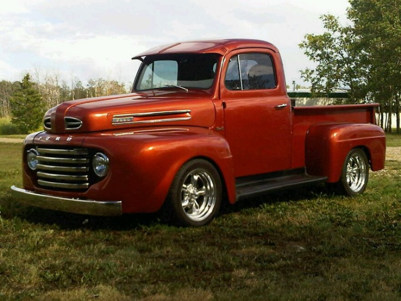 1948 Ford F100 ...i had a 1950 that looks the same wish i had never ...