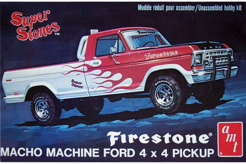AMT 1978 Firstone Ford Pickup model kit 1/25