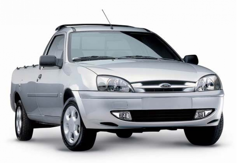 The 2010 Ford Courier pickup truck was launched in April in Brazil. If ...