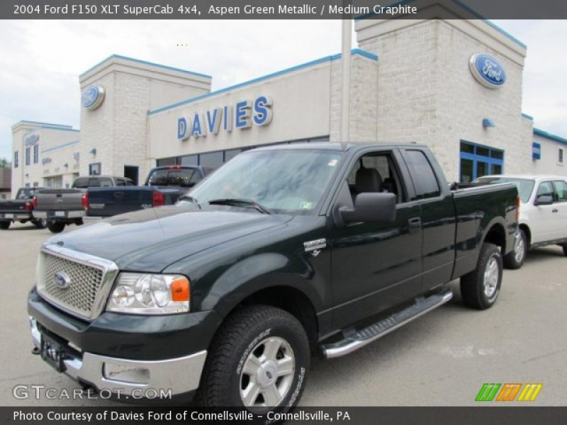 2004 Ford F150 XLT SuperCab 4x4 in Aspen Green Metallic. Click to see ...