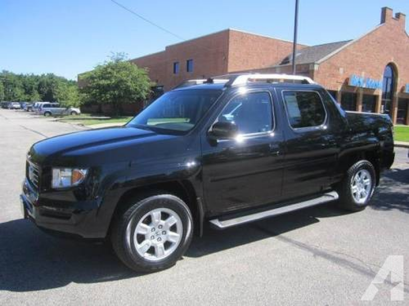 2007 Honda Ridgeline Truck Crew Cab RTL w/Leather 4WD for Sale in ...