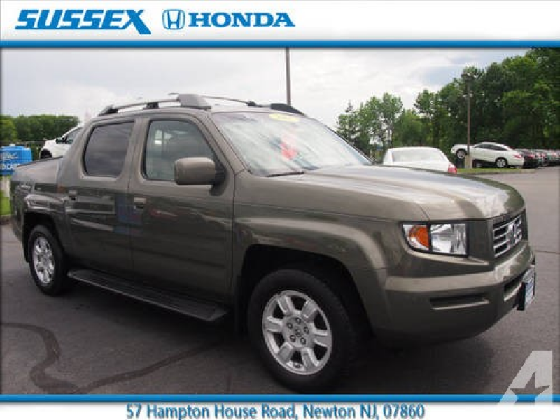 2007 Honda Ridgeline Pickup Truck 4X4 RTL for sale in Fredon, New ...